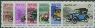 NZ SG972-7 13th International Vintage Car Rally set of 6